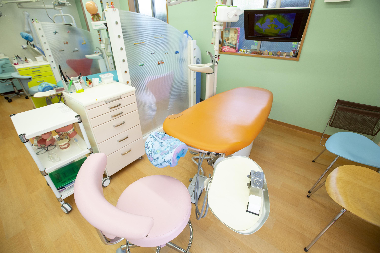オレンジの診療台